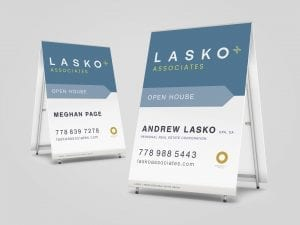 Y5 Creative Case Studies 2019 Open House Signage Lasko And Associates Real Estate Group