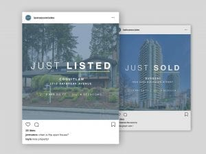 Y5 Creative Case Studies 2019 Social Media Instagram Posts Lasko And Associates Real Estate Group